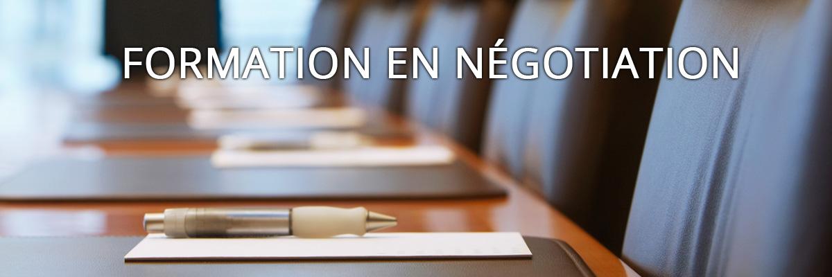 Formation en négociation de relation de travail